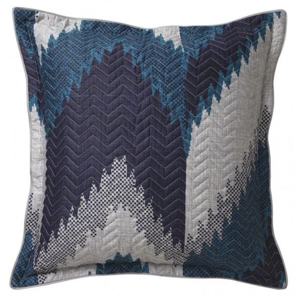 Flamestitch Teal By Florence Broadhurst Quilt Covers